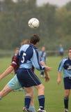 Le football 1 Photos libres de droits