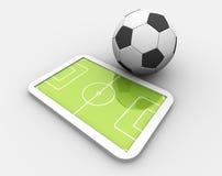 Le football illustration de vecteur