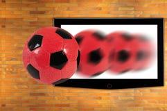 Le football. Photographie stock libre de droits