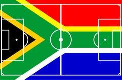 le football 2010 de l'Afrique du sud Images libres de droits