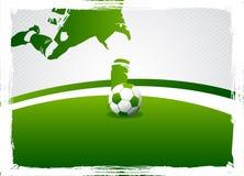 Le football Image libre de droits