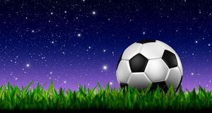Le football 3d du football Photos stock