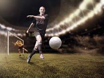 Le FOOTBALL (3) images libres de droits