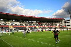 Le football Photographie stock libre de droits