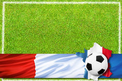 Le football 2016 Photographie stock