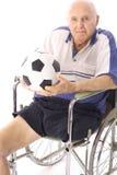 Le football aîné Image libre de droits
