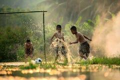 Le football Acton photos stock