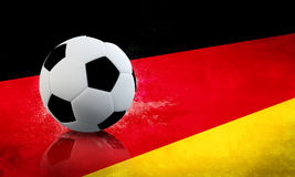 Le football allemand Photo libre de droits