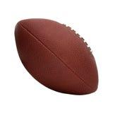Le football américain de type, vue de côté inclinée Image libre de droits
