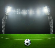 Le football bal.football, Image stock
