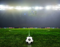 Le football bal le football, Photographie stock libre de droits