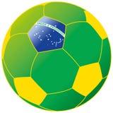 Le football brésilien Images libres de droits