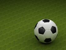 Le football classique Images stock