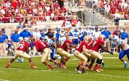 Le football d'université Photos libres de droits