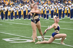 2014 le football d'université - fanfare Photographie stock