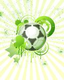 le football de 04 billes Images libres de droits