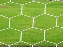 Le football de but photo libre de droits