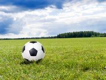 le football de bille Photographie stock