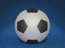 Le football de boule Photo stock