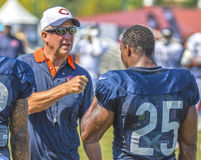 Le football de Chicago Bears Photographie stock libre de droits