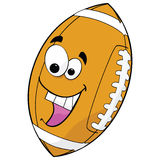 Le football de dessin animé Photographie stock libre de droits