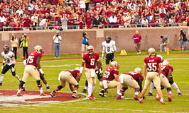 Le football de FSU photos libres de droits