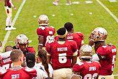 Le football de FSU Photo stock