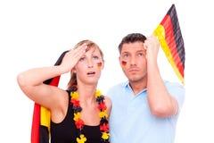 Le football de l'Allemagne Photos stock