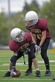 Le football de la jeunesse photographie stock libre de droits