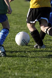 Le football de la jeunesse Image libre de droits