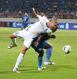Le football de la Thaïlande Photographie stock