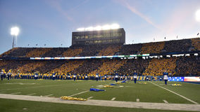 2015 le football de NCAA - état de l'Oklahoma chez la Virginie Occidentale Image libre de droits