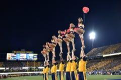 2015 le football de NCAA - état de l'Oklahoma chez la Virginie Occidentale Images stock