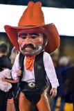 2015 le football de NCAA - état de l'Oklahoma chez la Virginie Occidentale Photo stock