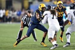 2015 le football de NCAA - GA @ WVU du sud Photos libres de droits
