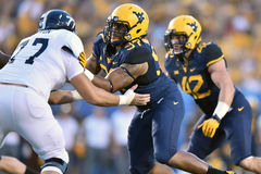 2015 le football de NCAA - GA @ WVU du sud Images libres de droits