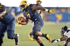 2015 le football de NCAA - GA @ WVU du sud Image libre de droits