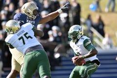 2015 le football de NCAA - la Floride du sud à la marine Images stock