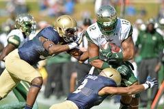 2015 le football de NCAA - la Floride du sud à la marine Photographie stock libre de droits