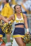 2015 le football de NCAA - le Maryland @ WVU Images stock
