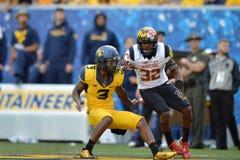 2015 le football de NCAA - le Maryland @ WVU Photo libre de droits
