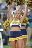 2015 le football de NCAA - le Maryland @ WVU Image libre de droits