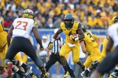 2015 le football de NCAA - le Maryland @ WVU Photo stock