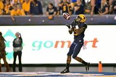 2014 le football de NCAA - le WVU-Oklahoma Images stock