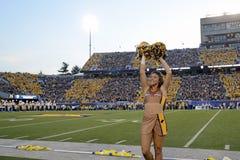 2014 le football de NCAA - le WVU-Oklahoma Photographie stock libre de droits