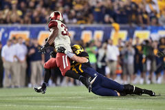 2014 le football de NCAA - le WVU-Oklahoma Photos stock