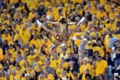 2014 le football de NCAA - le WVU-Oklahoma Photos libres de droits