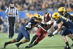 2014 le football de NCAA - le WVU-Oklahoma Image stock