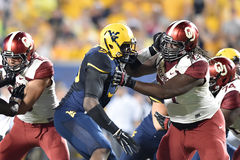 2014 le football de NCAA - le WVU-Oklahoma Photographie stock