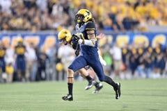 2014 le football de NCAA - le WVU-Oklahoma Image libre de droits
